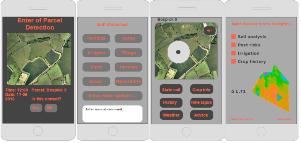 Voorlopig ontwerp app
