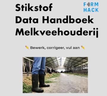 Stikstof Data handboek melkveehouderij